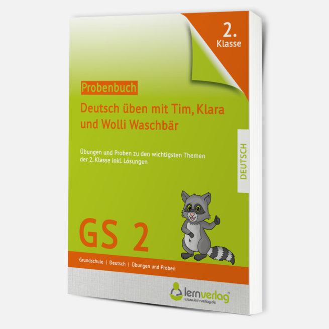 Probenbuch Deutsch Klasse 2