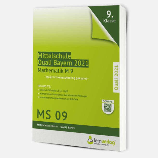 Quali 2021 - Prüfungstrainer Mathematik