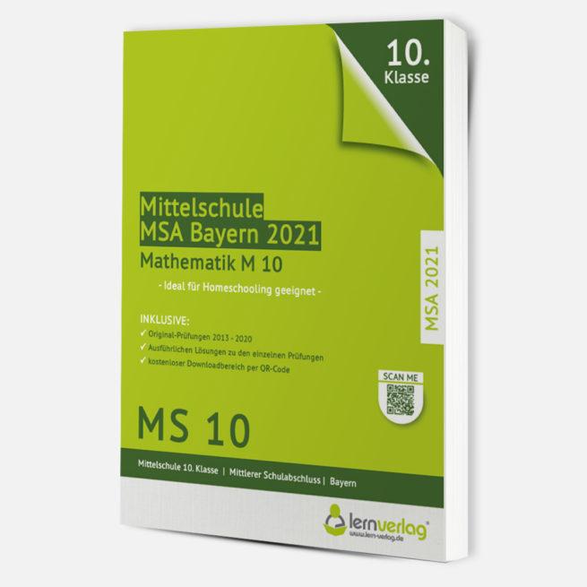 MSA M10 2021 - Prüfungstrainer Mathematik