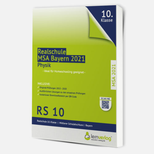 MSA 2021 Realschule Bayern Physik