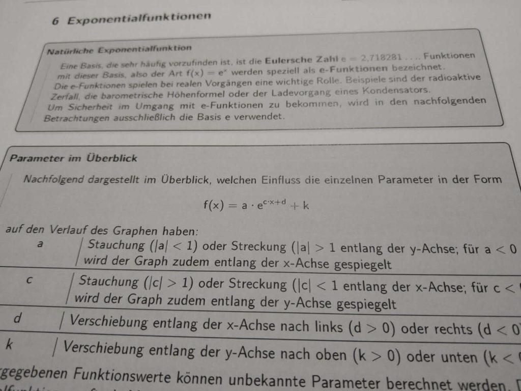 Exponentialfunktionen FOS 13 lern.de
