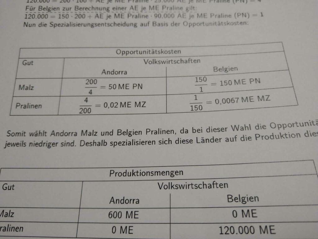 Versorgungsniveau FOS 13 IBV bei lern.de