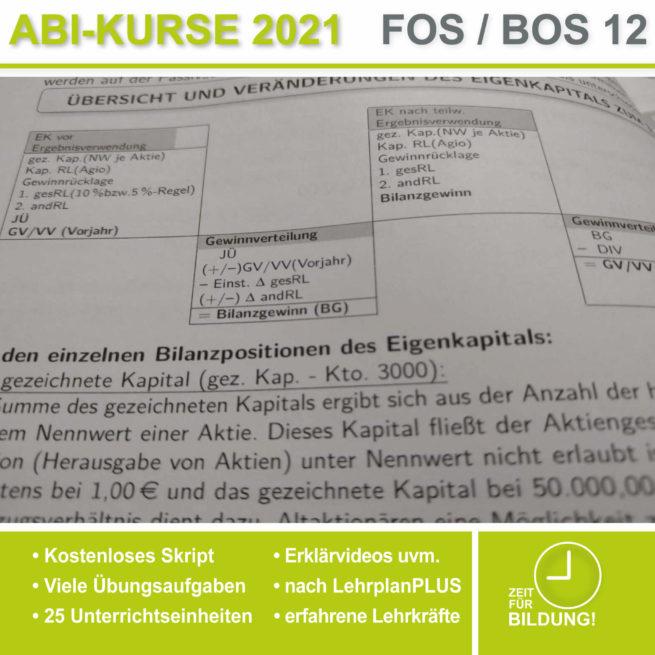 Abi 2021 FOS 12 BwR | IBV Ergebnisverwendung lern.de