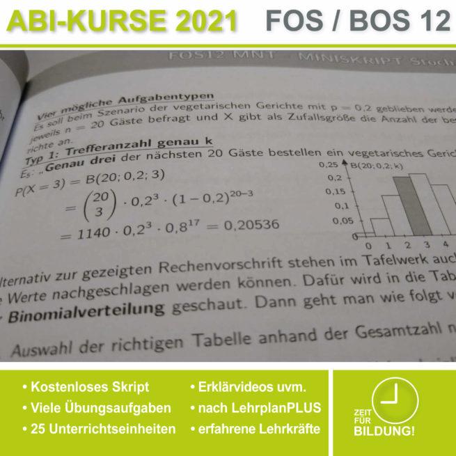 Abi 2021 FOS 12 Mathe Binomialverteilung
