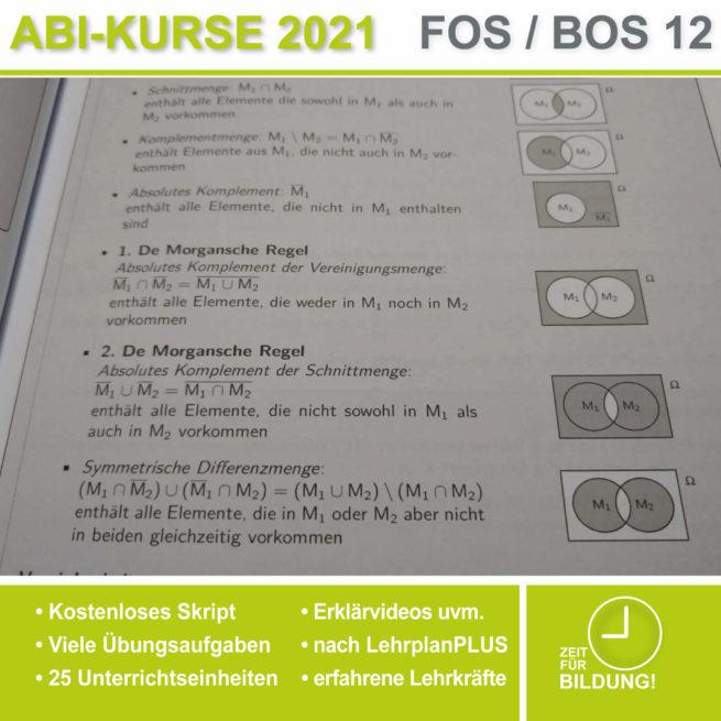Abi 2021 FOS 12 Mathe Venn-Diagramme