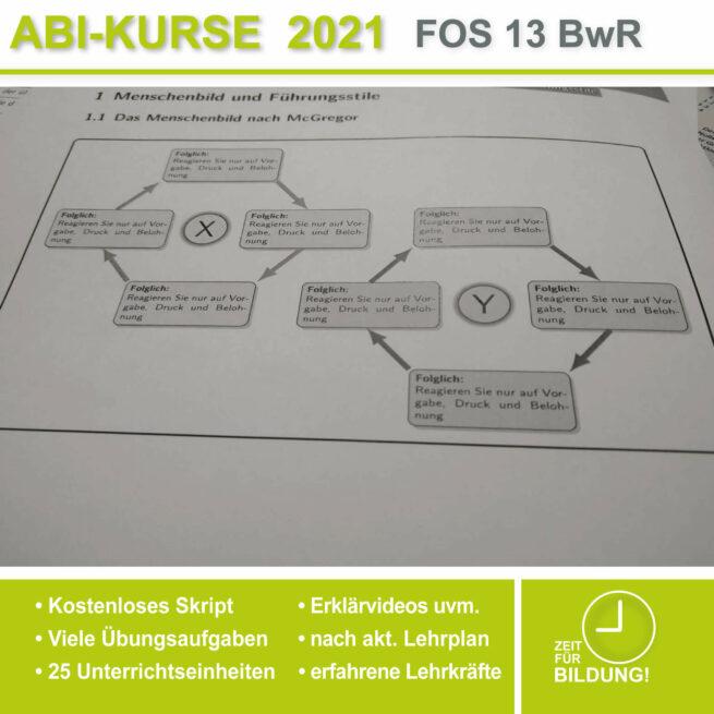 Abi-Vorbereitung 2021 FOS 13 BwR Menschenbilder bei lern.de