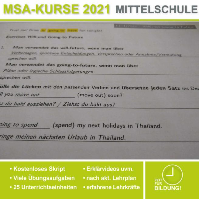 Mittelschule Englisch Will Going lern.de