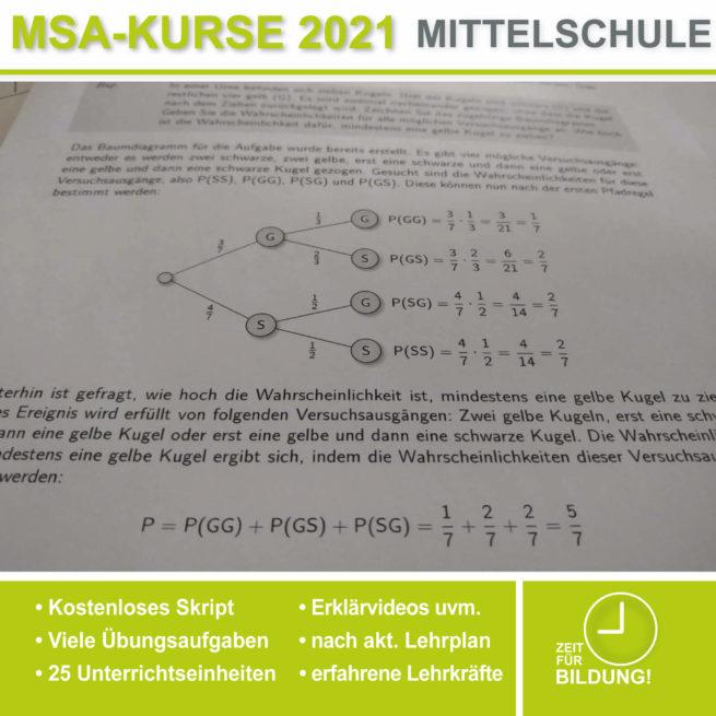 Abschlussprüfung Mittelschule M10 Baumdiagramme bei lern.de
