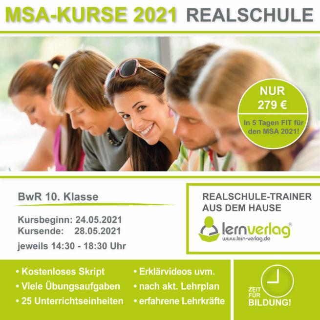 Prüfungsvorbereitung Realschule BwR lern.de