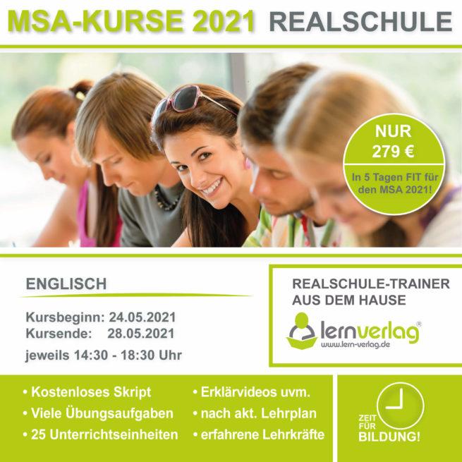 Prüfungsvorbereitung Realschule Englisch lern.de