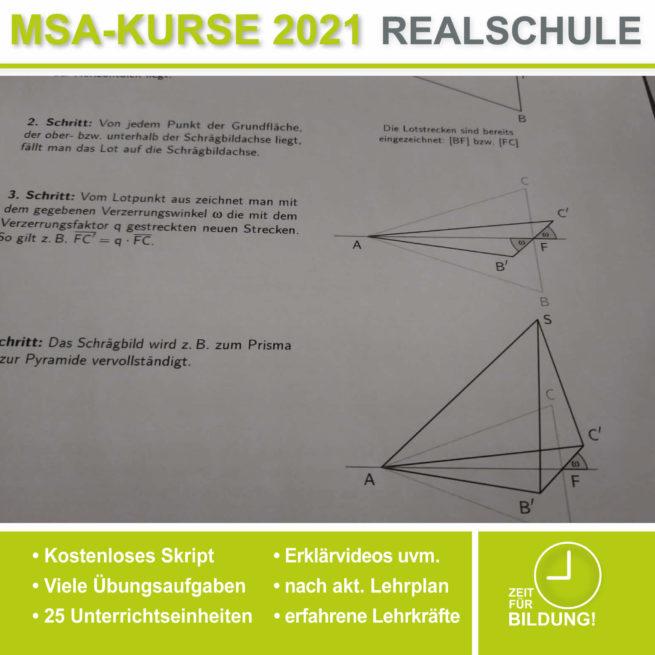 Abschlussprüfung Realschule Raumgeometrie bei lern.de