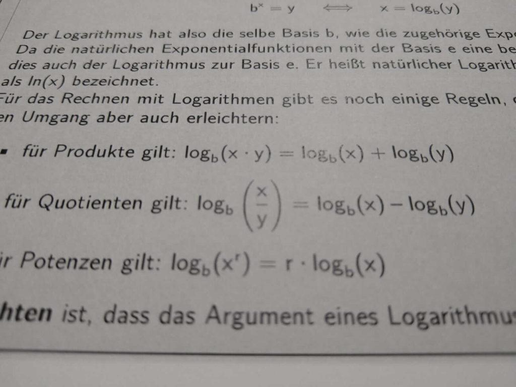Logarithmen FOS 13 lern.de