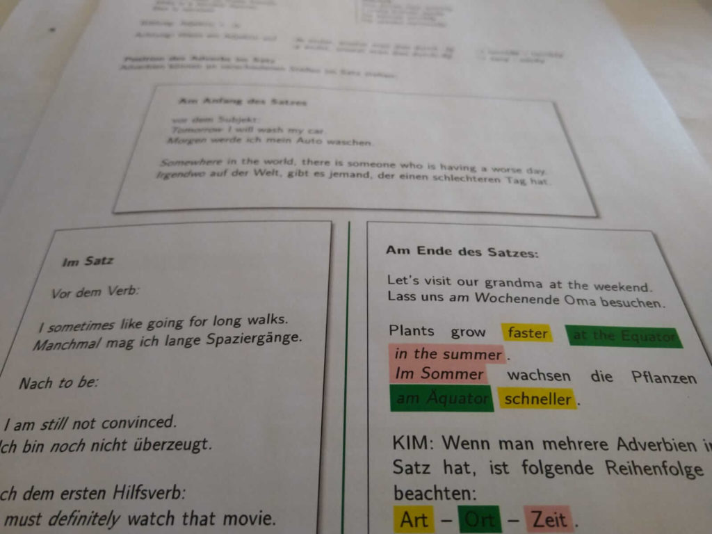 Realschule Englisch Adverbien Crashkurs lern.de