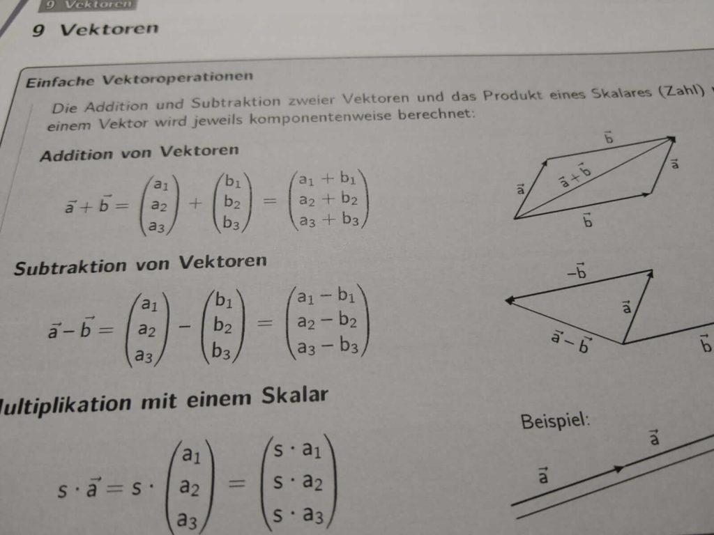 Vektoren FOS 13 lern.de
