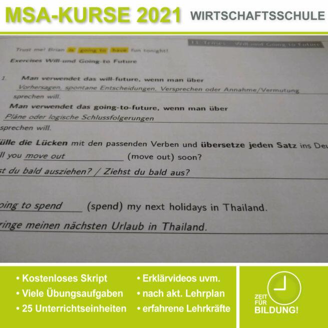 Wirtschschaftsschule Englisch Will Going lern.de