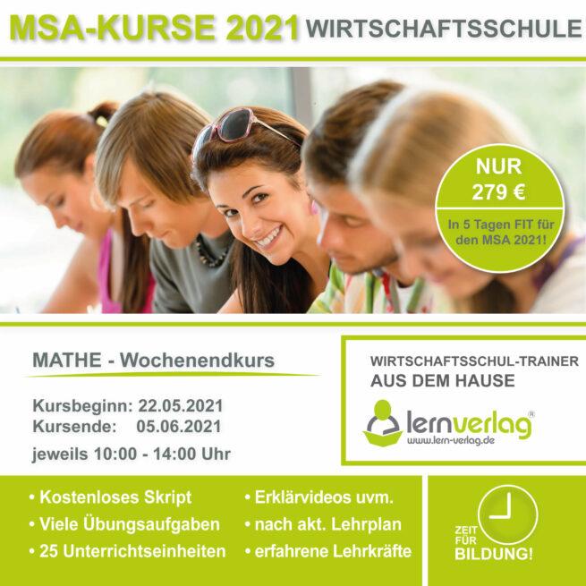 Prüfungsvorbereitung Wirtschaftsschule Mathematik lern.de