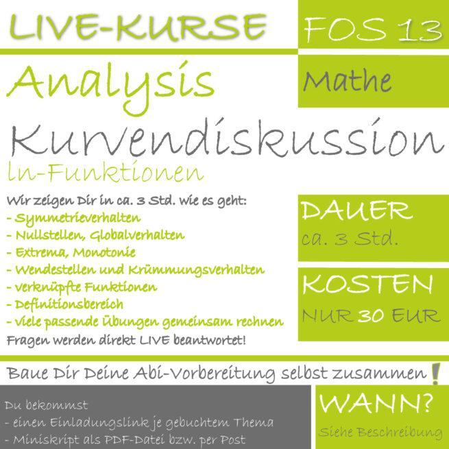 FOS 13 Mathe LIVE-EVENT ln-Funktionen