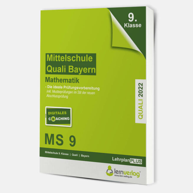 Original-Prüfungen Mathematik Mittelschule Quali Bayern 2022 | ISBN 9783743000858