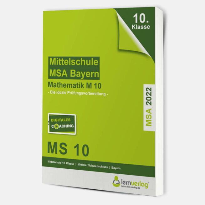Original-Prüfungen Mathematik Mittelschule M10 Bayern 2022   ISBN 9783743000865