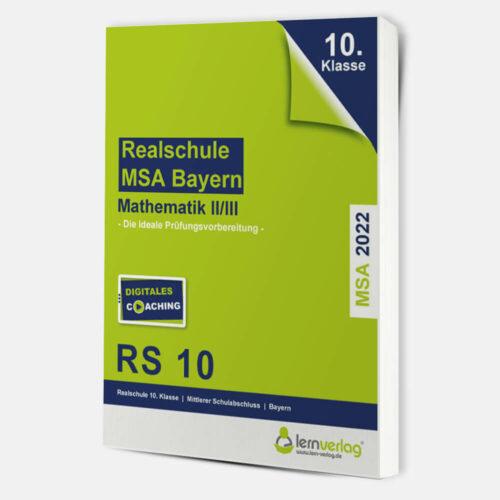 Original-Prüfungen Mathematik II/III Realschule Bayern 2022 | ISBN 9783743000827