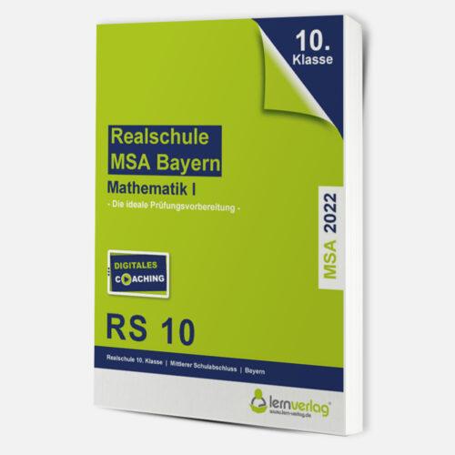 Original-Prüfungen Mathematik I Realschule Bayern 2022 | ISBN 9783743000810