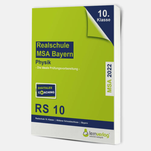 Original-Prüfungen Physik Realschule Bayern 2022 | ISBN 9783743000834