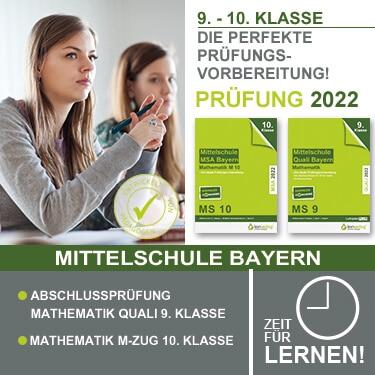 Prüfungstrainer Mittelschule Bayern