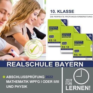 Prüfungstrainer Realschule Bayern